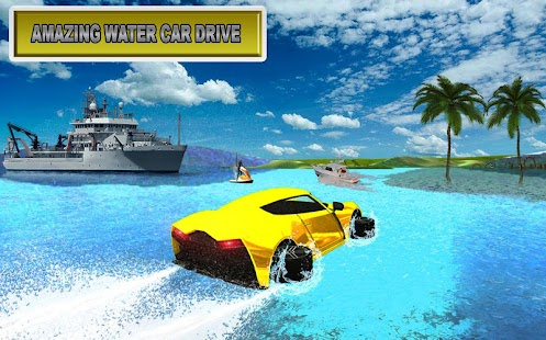 floating water car games 2017