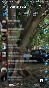 App BBM TRANSPARAN THEME APK for Windows Phone