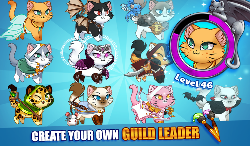 Castle Cats:  Idle Hero RPG Screenshot 0