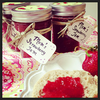 Mom's Strawberry Jam