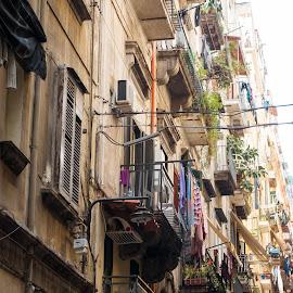 Naples by Andrew Moore - City,  Street & Park  Street Scenes