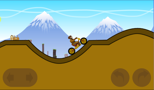 Soldier Motorcycle Hill Climb - screenshot