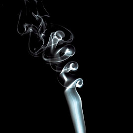 Smoke by Soyam Chhatrapati - Abstract Patterns ( abstract, abstract art, smoke photography, white, smoke )