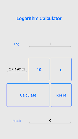 android Quick Logarithm Calculator Screenshot 4