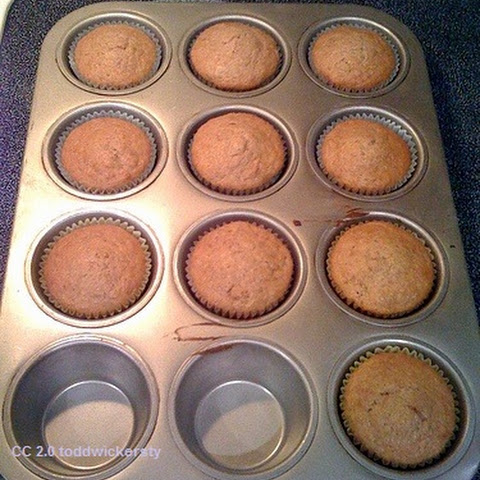 Dukan Diet Recipes – Chocolate and Cinnamon Oat Bran Muffins