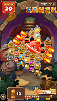 Monster Busters: Hexa Blast APK screenshot thumbnail 1