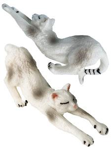 "Игрушка-фигурка серии ""Город Игр"", котенок S3, белый"