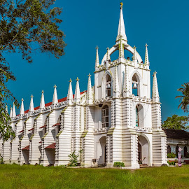 Mau de deus Church,Saligao,Goa,India by Amrita Bhattacharyya - Buildings & Architecture Other Exteriors