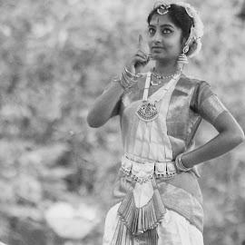 dancing girl by Naveen Mahadev - City,  Street & Park  Street Scenes