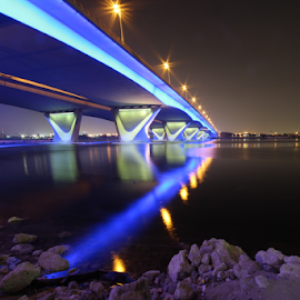 Dubai-bridge by François Jabre - Landscapes Waterscapes