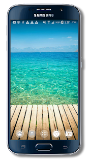 Beach Slideshow Wallpaper - screenshot