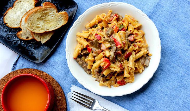 Campanelle Pasta Recipe Campanelle Pasta And Steak in