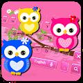Free Hued Owl Keyboard Theme APK for Windows 8