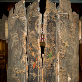 Chapel by Jo Soule - Buildings & Architecture Places of Worship ( art work, churches in brisbane, wooden carving, chapel,  )