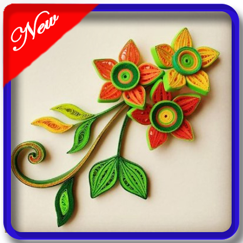 quilling art design Screenshot