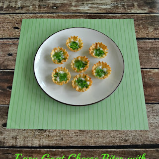 Easy Goat Cheese Bites with Hot Pepper Jelly