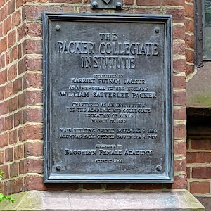 THE PACKER COLLEGIATE INSTITUTE ESTABLISHED BY HARRIET PUTNAM PACKER AS A MEMORIAL TO HER HUSBAND WILLIAM SATTERLEE PACKER   CHARTERED AS AN INSTITUTION FOR THE ACADEMIC AND COLLEGIATE EDUCATION OF ...