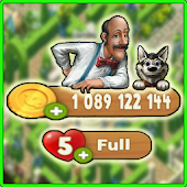 Download Full Coins For Gardenscapes - No Root Cheats prank 1.0 APK