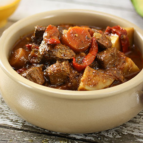 Slow Cooker Tex Mex Stew (Carne Guisada)