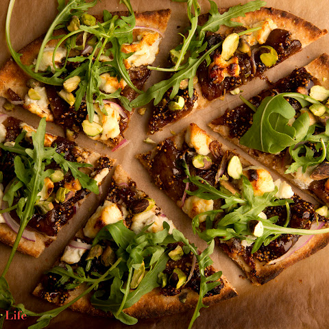 Fig & Goat Cheese Pizza