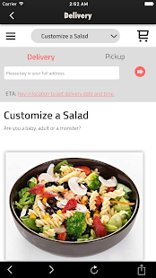 Salad Atelier - screenshot