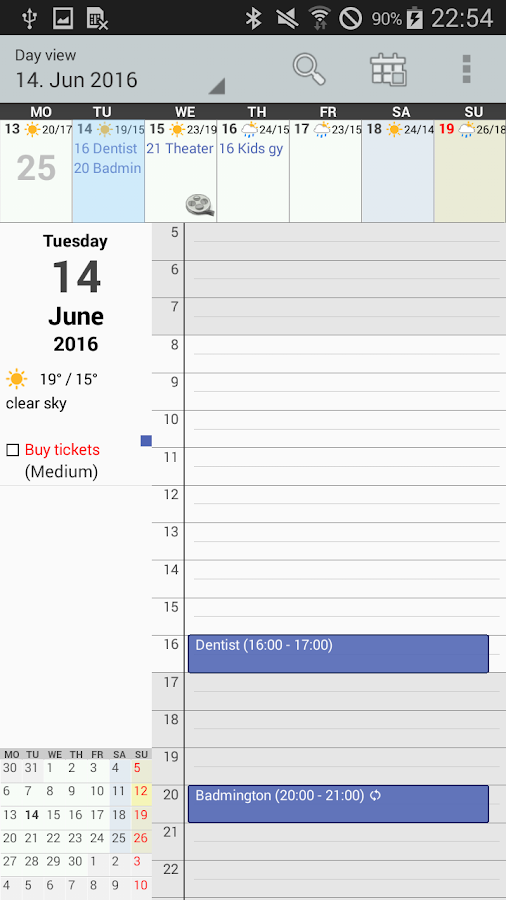 Personal Calendar Screenshot 5