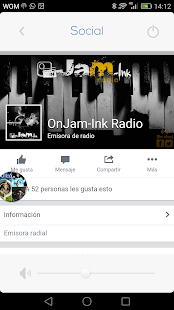 OnJam-Ink Radio - screenshot