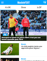 Screenshot of FOOT : Infos, Mercato, Direct
