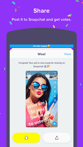 Polly - Snapchat polls with friends For PC