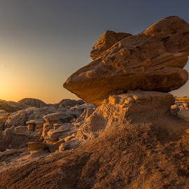 Balancing Rock by Eric Wellman - Landscapes Caves & Formations ( park, rock )