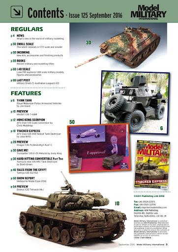 Model Military International - screenshot