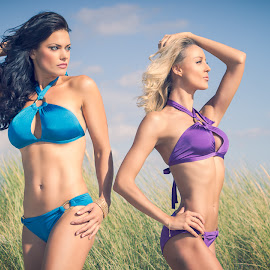 Swimwear 1 by Glen Jevon - People Fashion ( model, fashion, beachwear, female, swimwear, summer, beach,  )