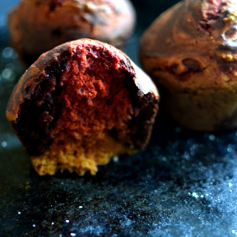 Turmeric Chocolate Snack Cakes