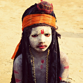 Little Boy dressed as Lord SHIVA by Shishir Pal Singh - News & Events World Events