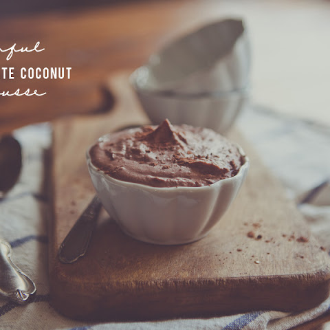 Sinful Chocolate Coconut Mousse