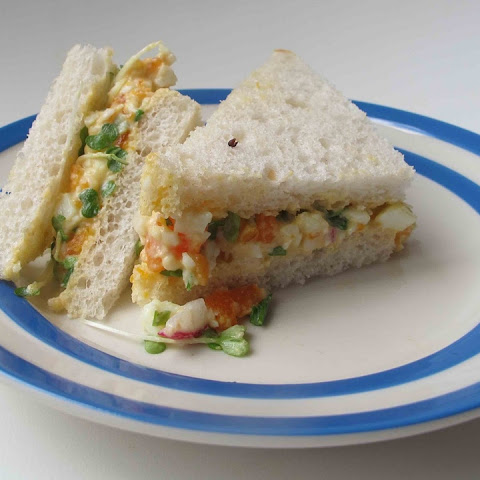 Felicity Cloake's perfect egg mayonnaise sandwich