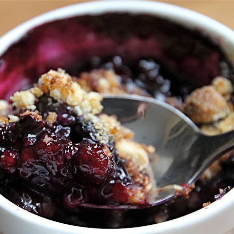 Low Carb Berry Almond Crumble