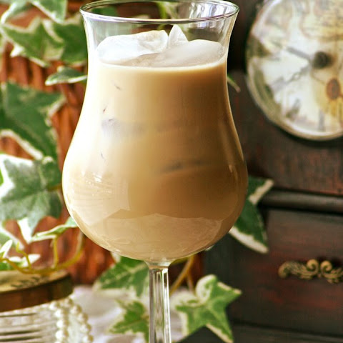 Caramel Iced Coffee with Kahlua and Frangelico
