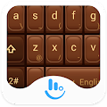 App TouchPal Love Chocolate Theme APK for Kindle