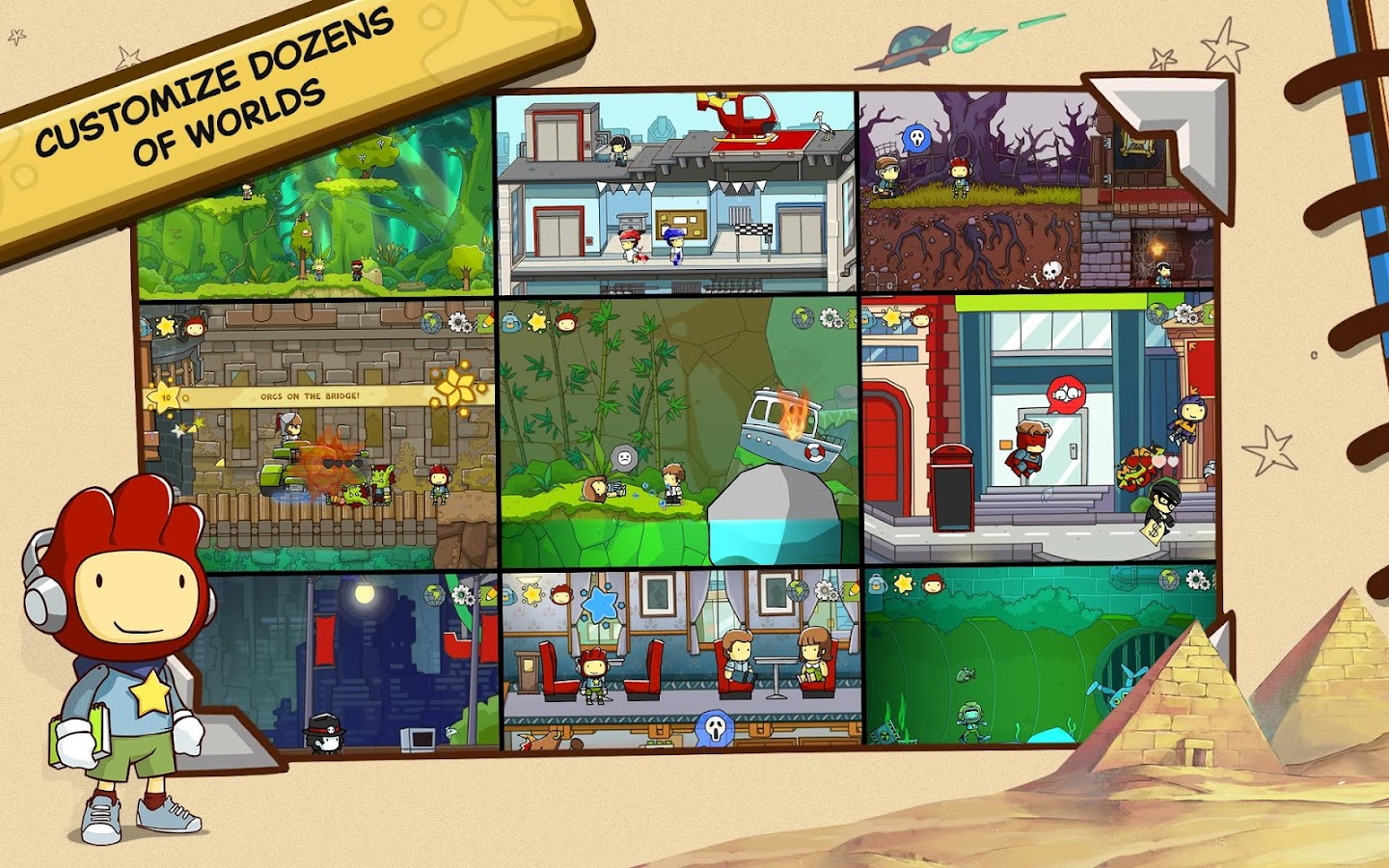 Scribblenauts Unlimited Screenshot 16