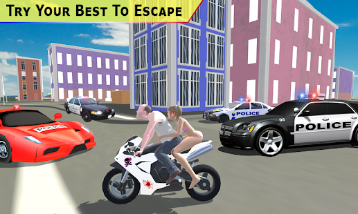 Theft Bike Drift Racing Screenshot