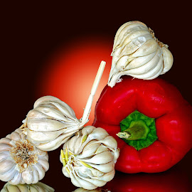Garlics by Asif Bora - Food & Drink Ingredients