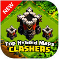 Download Full TOP Hybrid Maps Clash Clans 1.0 APK