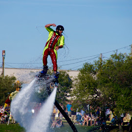 Water Show at Lake Anna Barberton,Ohio by Lynn Andrasko - Sports & Fitness Other Sports