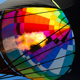 Hot Air Balloon by Linda Antenucci - Transportation Other