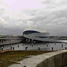 Do outro lado by João Maria Vasconcelos Fontes de Barros Taveira - Buildings & Architecture Other Exteriors ( novoterminaldeleixoes, portodeleixoes )