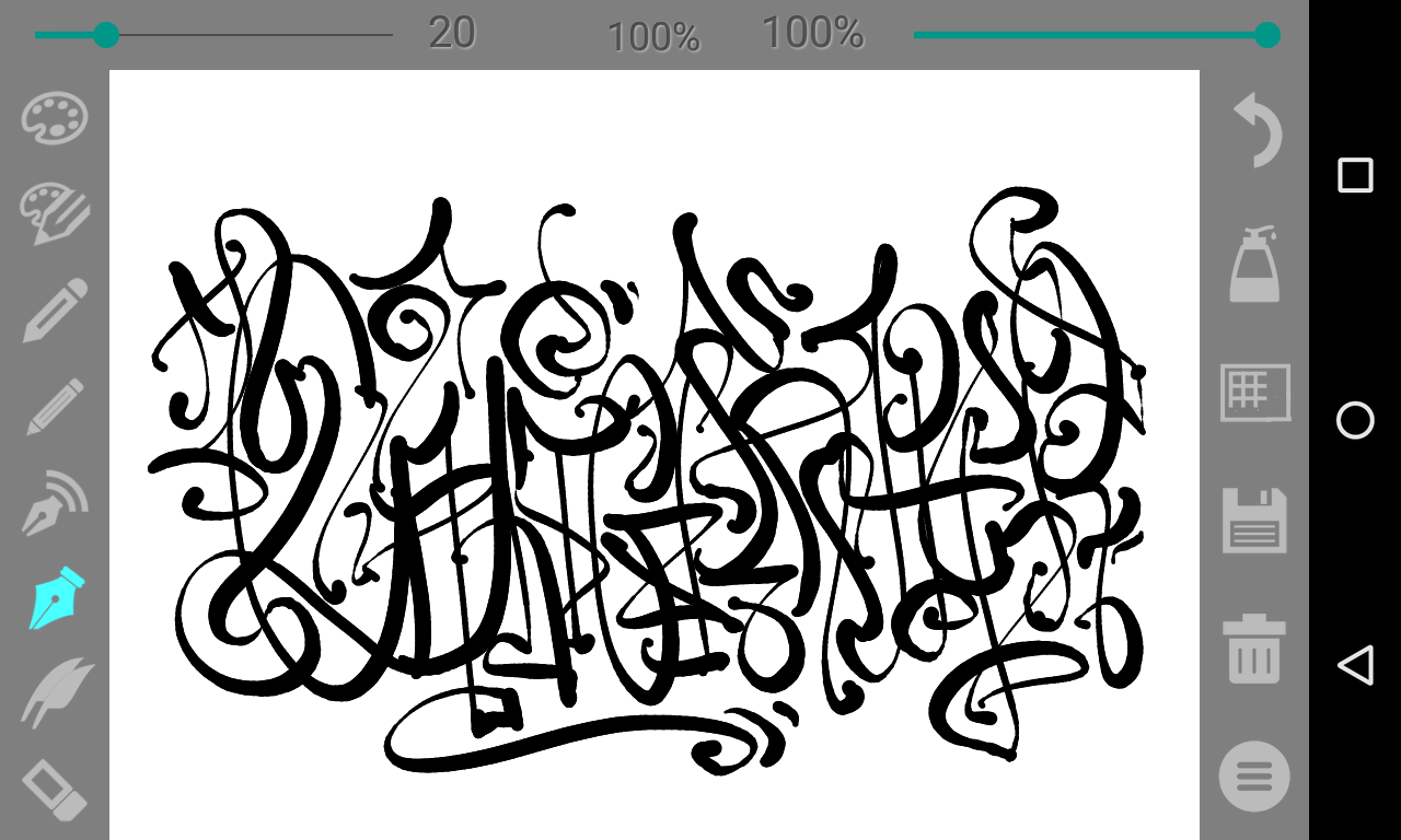 Calligrapher Pro Screenshot 0