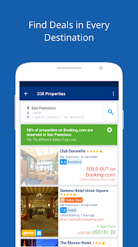 Booking.com Hotel Deals APK screenshot thumbnail 4