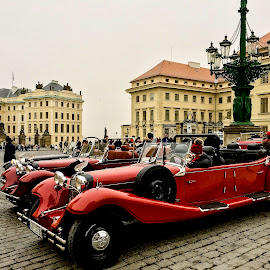 Prague Castle by Shari Linger - Instagram & Mobile iPhone ( prague castle, castles, czech republic, historical, antique cars, historical places )