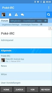 Poké-iRC - screenshot